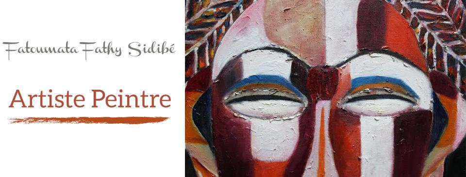Fatoumata Fathy Sidibé Artiste Peintre